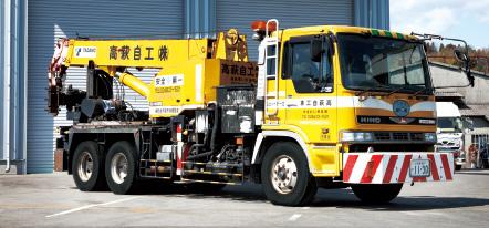日野 タダノ製16tトラッククレーン